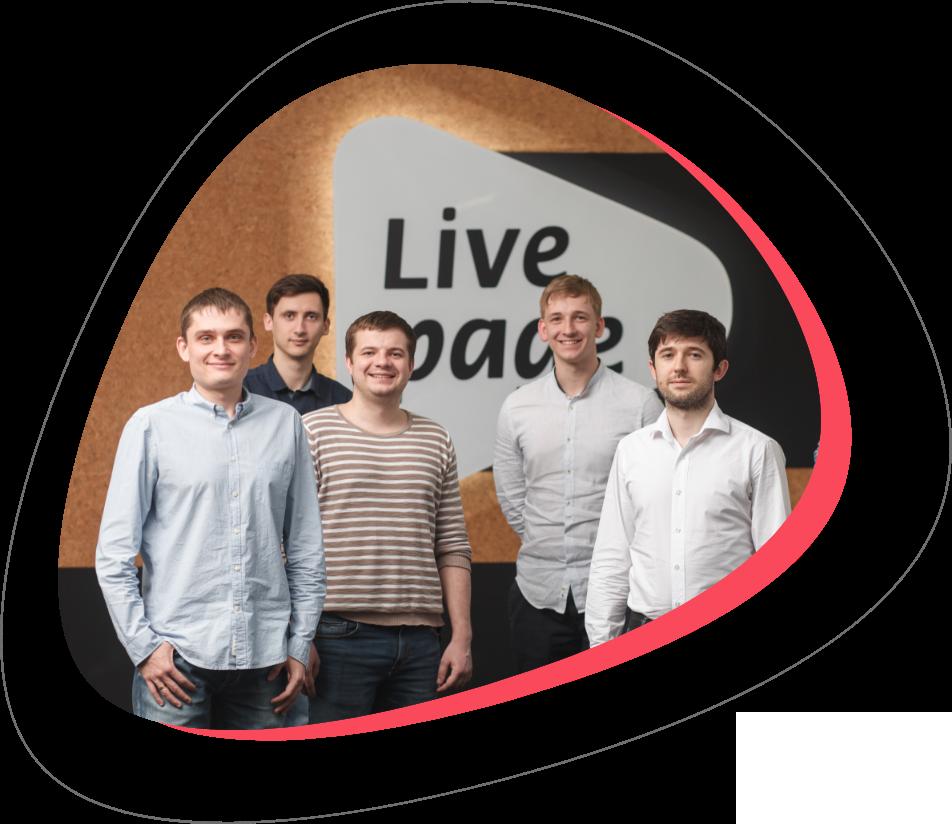Livepage team photos