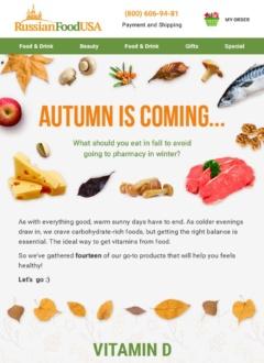 Vitamins Autumn Is Coming