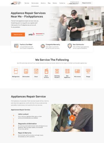 Appliance Repair Services Near Me — FixAppliances