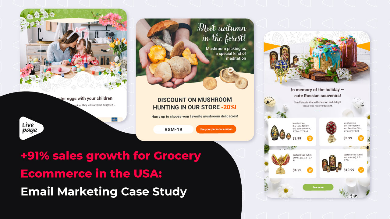 email marketing for food ecommerce case study