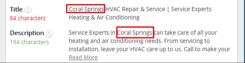 HVAC website marketing